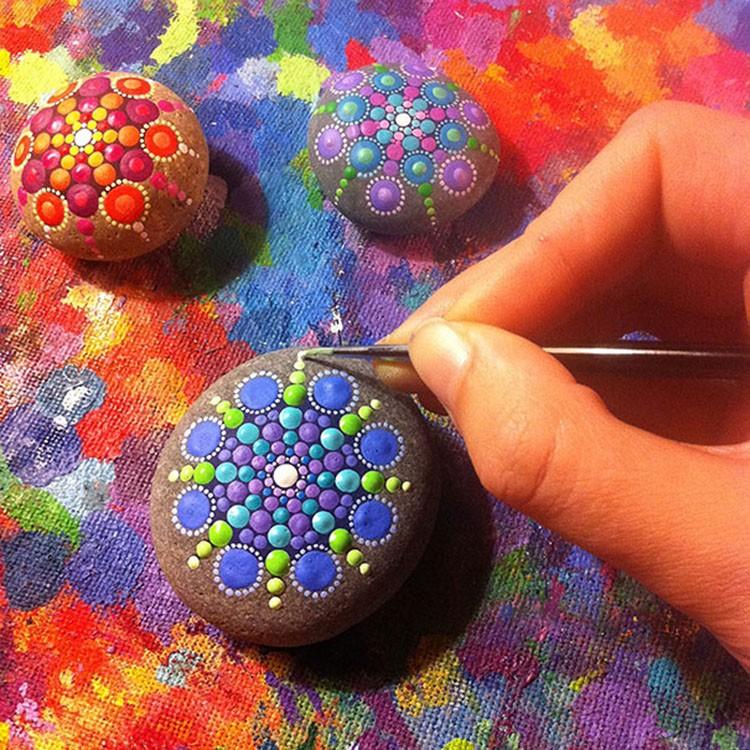 Камни своими руками рисунок